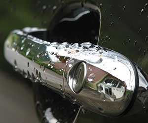 車-ドアノブ-傷消し-傷防止フィルム-画像