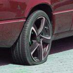 タイヤがパンクしてないのに空気が抜ける時はバルブコア交換!